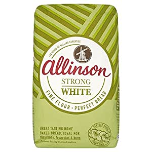 Amazon.com : Allinson Strong White Bread Flour 3KG : Bread