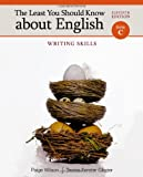 The Least You Should Know about English, Form C, Glazier, Teresa Ferster and Wilson, Paige, 1111830924