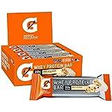 Gatorade Whey Protein Recover Bars, Vanilla Almond, 2.8 ounce bars (12 Count)