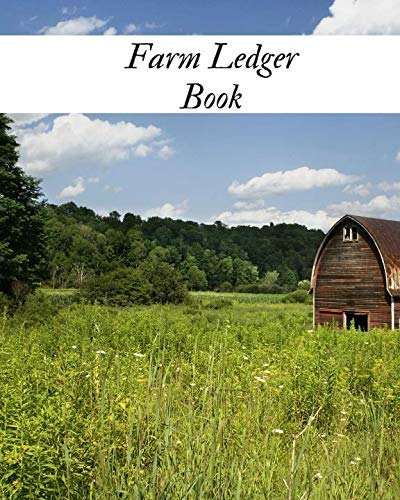 Farm Ledger Book: Farm Record Keeping Logbook| Farming Essentials| Farm Bookkeeping Note| Farmer Ledger Log| Livestock journal organizer