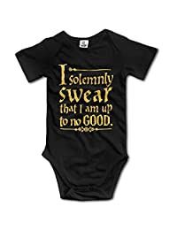 Infant Girls Harry Potter Up To No Good Baby Onesies Romper