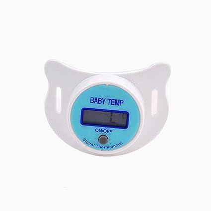 Chupete termómetro, termómetro digital Fibra iSuper para el bebé y ...