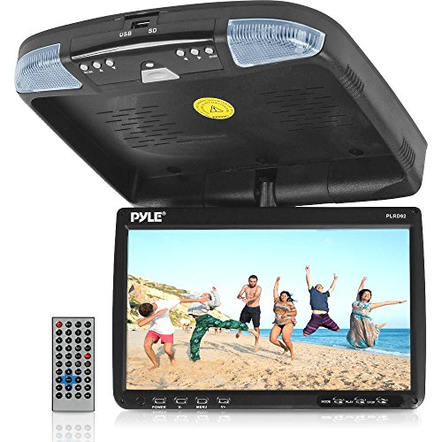 De Dvd Monitor (PYLE PLRD92 9-Inch Flip Down Monitor and DVD Player with Wireless FM Modulator/ IR Transmitter)