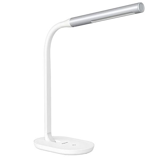 491 opinioni per Aglaia Lampada da Tavolo a LED, 7W con Porta USB, Touch Dimmerabile Controllo