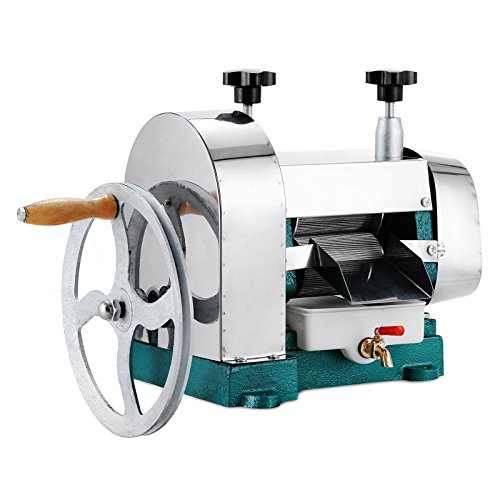 Heavy Duty Oil Filter Crusher - VEVOR Sugar Cane Juicer 110LBS/H Stainless Steel SugarCane Crusher Machine Commercial Extractor Manual Press 50KG/H