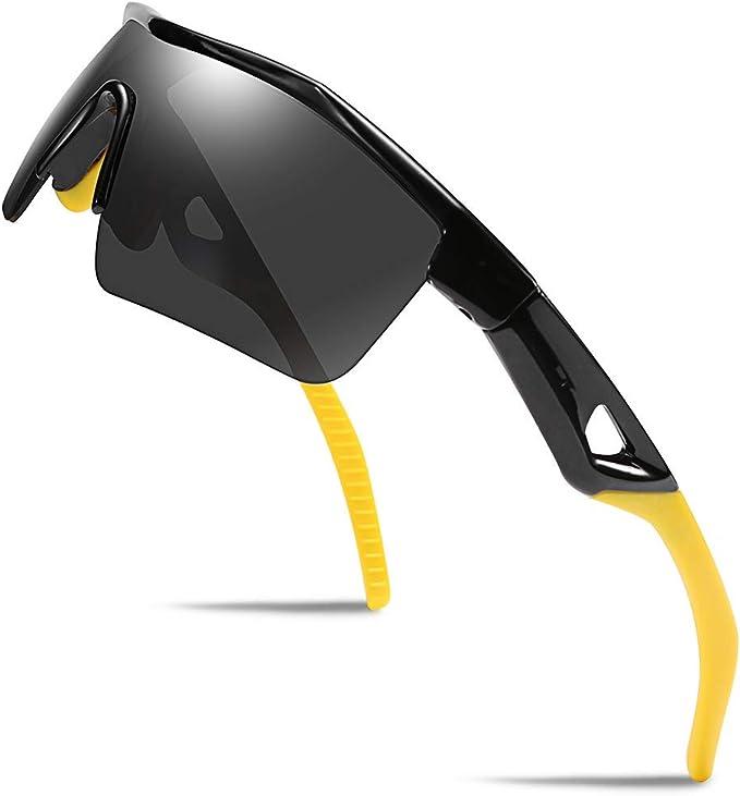 Kids Boys Girls Teen Sport Polarized Sunglasses Child Cycling Shades 100/% UV