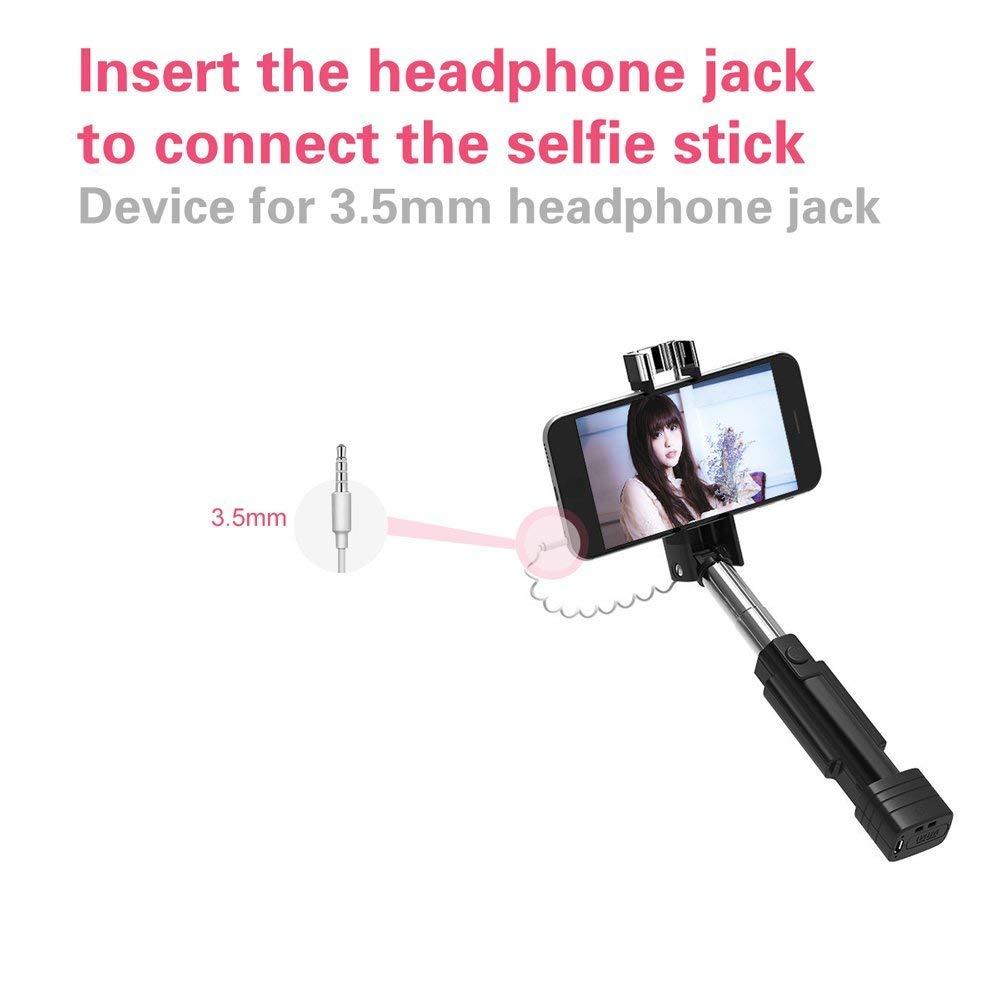 Mini Selfie Stick Atongm Cell Phone Sticks Headphone Jack Wiring Electronics