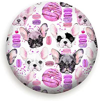 Cute Dog Watercolor Puppy The Arts Food and Drink Universal Spare Tire Type Cover Wheel Covers