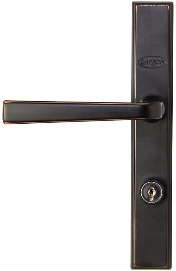 Wright Products VCA112SN Castellan Surface Latch in Satin Nickel Storm Door
