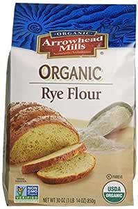 Arrowhead Mills Organic Rye Flour, 30 Ounce