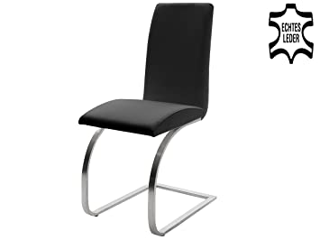 Schwingstuhl Leder Echtlederstuhl Lederstühle Stuhl Stühle Taliteo