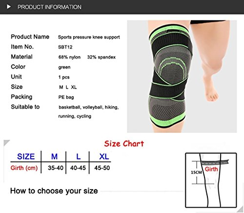 HipStone-Knee-Sleeve-Compression-Fit-Support-for-Joint-Pain-and-Arthritis-Relief-Improved-Circulation-Compression-Wear-Anywhere-Single