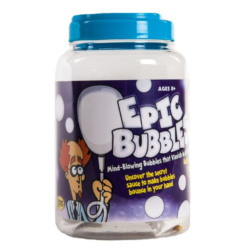 Be Amazing! Toys Epic Bubbles Jar Science Experiment Kits