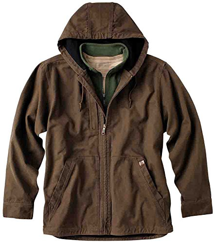 DRI DUCK - Laredo Canvas Jacket with Thermal Lining - 5090-Tobacco-XL