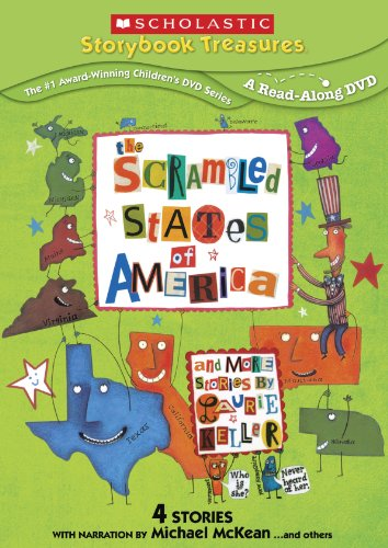 Scrambled States of America & More Stories By Laurie (Activity Scholastic Storybook)