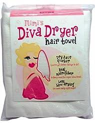 Aquis Mimi's Diva Dryer Hair Towel, Large, White1 ea