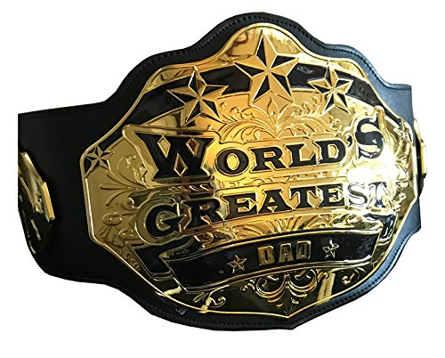 World's Greatest Dad Championship Belt, used for sale  Delivered anywhere in USA