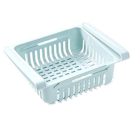1 Pc Organizador De La Cocina Cocina Refrigerador Ajustable Rack ...