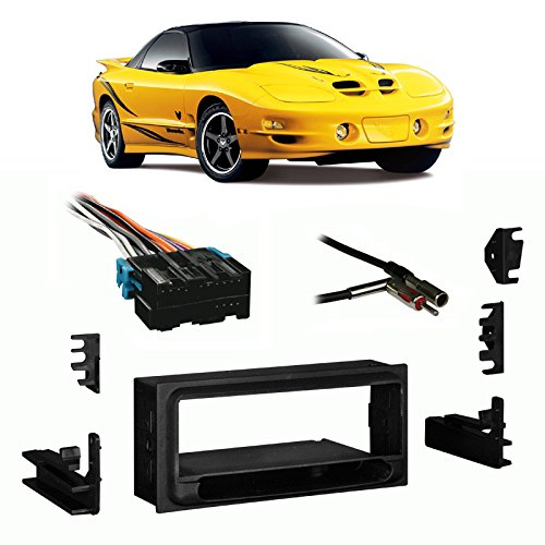 Firebird Radio - Fits Pontiac Firebird/Trans Am 93-02 Single DIN Harness Radio Install Dash Kit