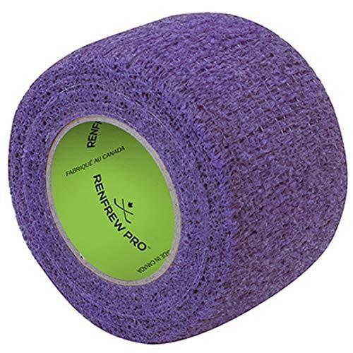 Purple Hockey Tape - Renfrew Stretchrap Grip Tape Scapa Hockey Stick, 1 Roll (1.5