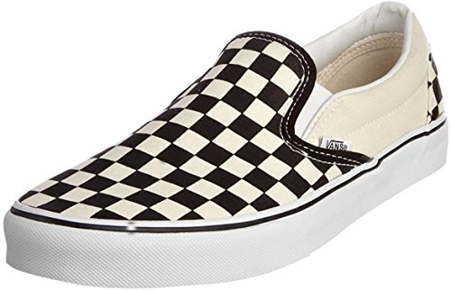 Vans Classic Slip-On, Sneakers, Unisex adulto, (Black and White Checker), 36,5 EU D(M)