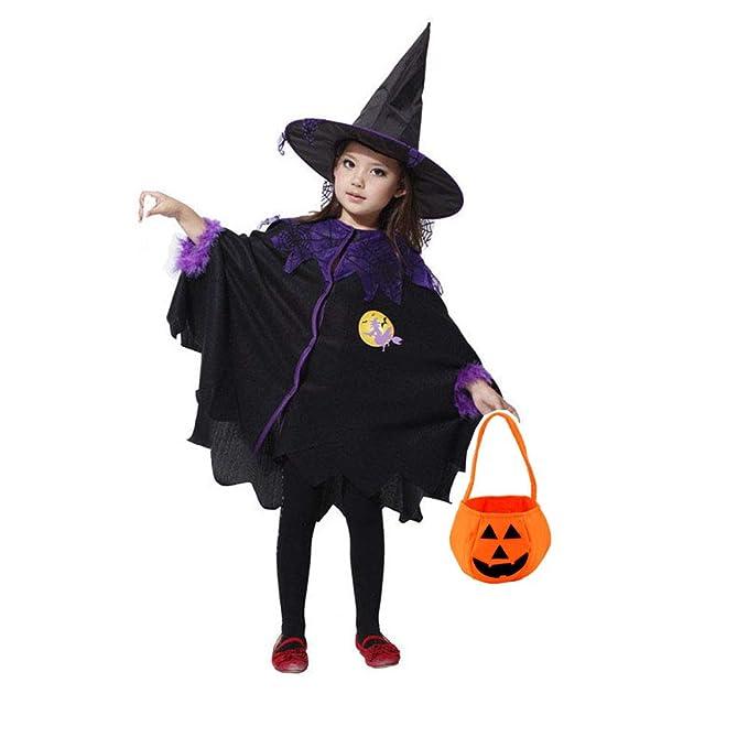 Amazon.com: Disfraz de Halloween con capucha para niñas y ...