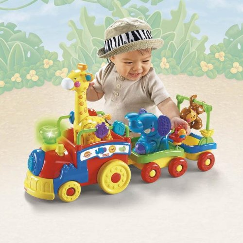 Fisher-Price Amazing Animals Sing and Go Choo-Choo by Fisher-Price (Image #2)