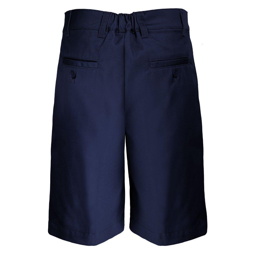 Pro5 Boys School Uniform Husky Fit Shorts Pant Black//Navy//Khaki//Grey 8~22