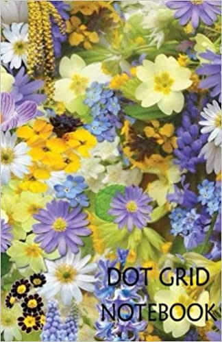 Dot Grid Notebook : Spring: 120 Dot Grid pages, (5 5 x 8 5