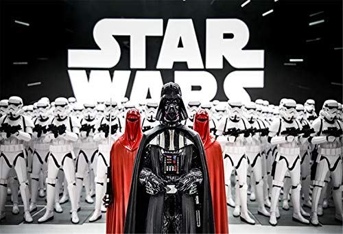 (Star Wars Photography Backdrop for Boy Birthday Party 7x5ft Photography Background Birthday Party Banner for Teens)