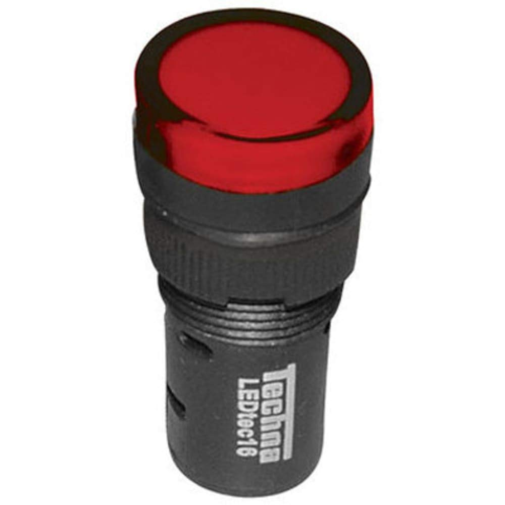 RS Pro LED Indicator 16mm Red 24Vac/dc, Pack of 20