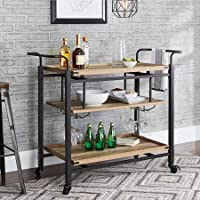 Better Homes & Gardens Crossmill Bar Cart (Weathered Finish)
