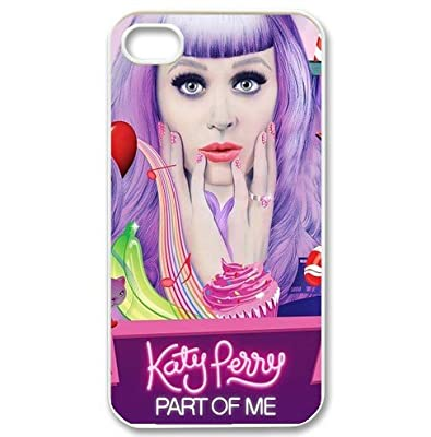 iPhone 4/4s back case cover with popular singer Katy Perry logo