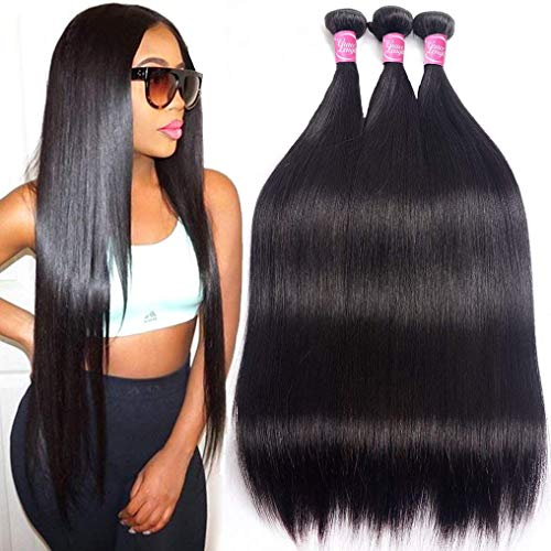 Mink 8A Brazilian Virgin Hair Straight Remy Human Hair 3 Bundles Deals 12