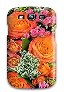 Awesome BZMpcTs6364rJMxP JohnAHerrera Defender Tpu Hard Case Cover For Galaxy S3- Rose