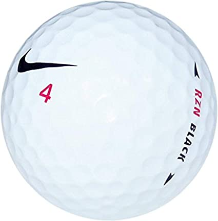 Almeja marcador Una oración  Amazon.com : GolfBallHero Nike RZN Black Mint Recycled Golf Balls (36 Pack)  : Sports & Outdoors