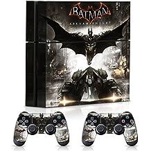 Controller Gear Batman Arkham Knight Batman Flight - PS4 Combo Skin Set for Console and Controller