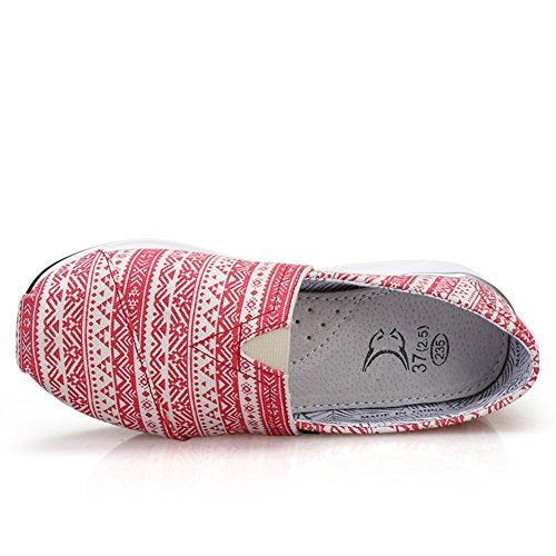 Ons Mesh XUE Conducci Slip de Mujer y Spring Mocasines Zapatos Zapatos de Fall qqRxZnzt1