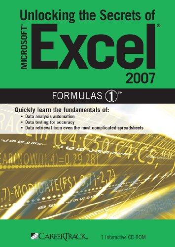 Read Online Unlocking the Secrets of Microsoft Excel 2007 Formulas 1 ebook
