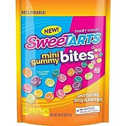 Sweetarts Mini Gummy Bites Candy, 10 Oz Bag