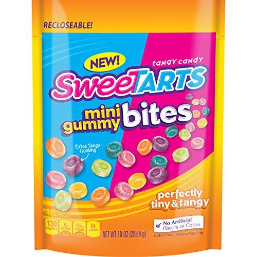Gummy Sweets (SweeTARTS Mini Gummy Bites Candy, 10 oz)