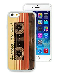 Fashionable iPhone 6S Plus Case,Awesome Mix Vol 1 White Customized Case For iPhone 6S Plus 5.5 Inch TPU Case