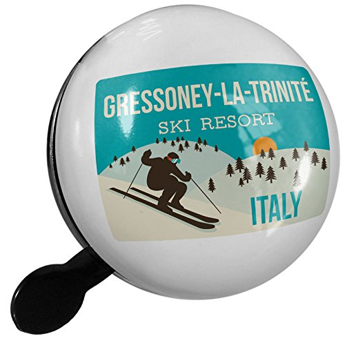 Small Bike Bell Gressoney-La-Trinité Ski Resort - Italy Ski Resort - NEONBLOND by NEONBLOND