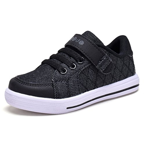 COODO Boys Girls Velcro Sneakers Toddler Kids Walking Running Sports Shoes