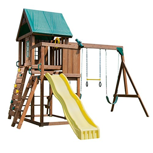 Swing-N-Slide WS 8343 Altamont Playset with Slide, Climbing