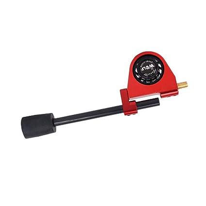 FLAMEER Estabilizador De Tiro con Al Aire Libre Sujeción Silenciador De Parada Rojo