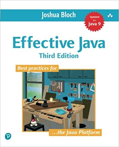 Effective Java 3rd Edition Released- Long Awaited version for Java 7, 8, and 9.