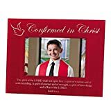 Set of 4 Confirmed in Christ Confirmation Photo Frame