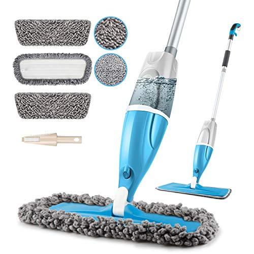 POPTEN Microfiber Spray Floor Mops for Floors