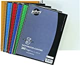Best Notebook Papers - Hilroy Coil 5-subject Notebook, Wide Ruled, 10.5 X Review